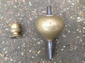 Vintage Brass Plumb Bob