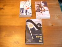 3 PAPERBACK BOOKS and 1 QUIZ BOOK