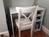 IKEA Desk Brusali + chair