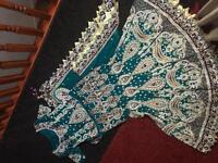 Asian wedding bridal Walima Lengha, like brand new