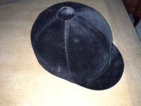 Riding hat 7 1/2 61cms large black