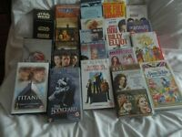 26 ASSORTED VHS VIDEO TAPES