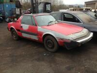 Fiat X19 breaking for spares or repair