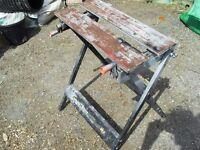 Lightweight portable work bench