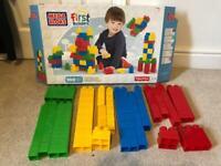 Mega bloks first builders 100 block bundle RRP £25 brick building toy