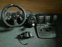 Logitech G920 Wheel Bundle for Xbox One