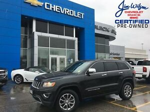 2014 Jeep Grand Cherokee Limited ROOF NAV HEATED STEERING WHEEL