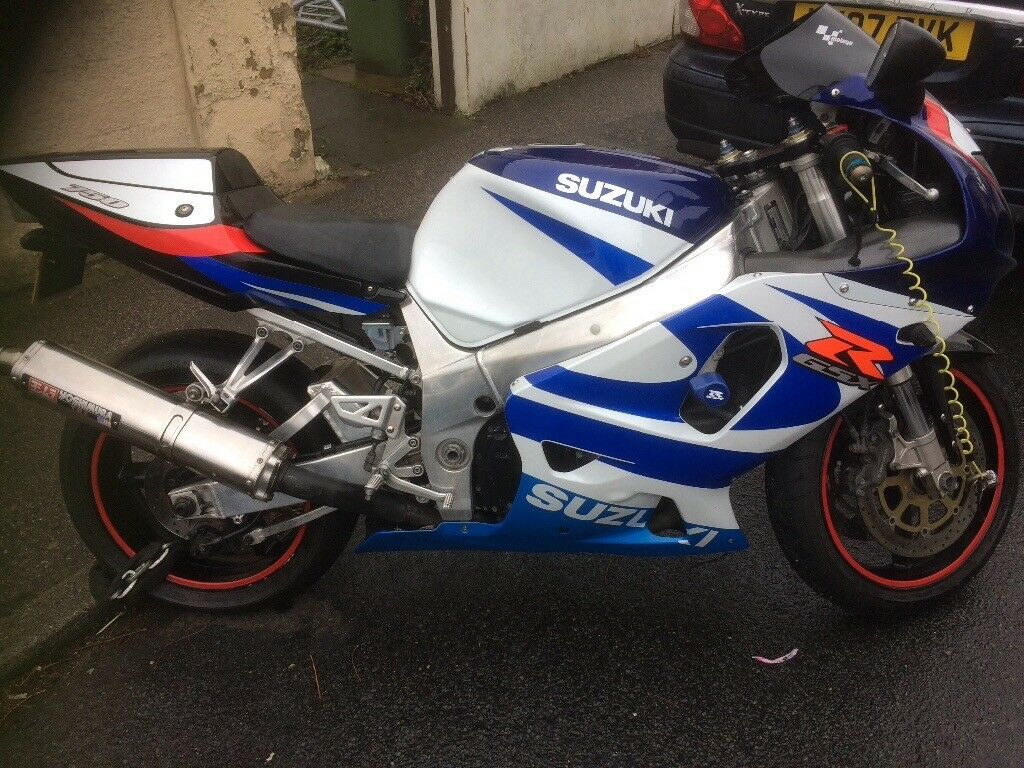Gsxr 750 mint condition low mileage polished frame/swing arm ...