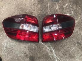 Mercedes ml w164 rear lights