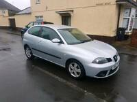 Seat Ibiza 2007 in silver ideal 1st car LOW INSURANCE GROUP ,good condition ,px options available