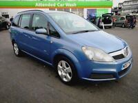 7 SEATER VAUXHALL ZAFIRA 1.6 MANUAL. LONG MOT. FULL SERVICE HISTORY. 1 PREVIOUS OWNER. HPI CLEAR