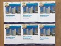 CFA lvl 3 Schweser 5 books + 2 exam prep books [Condition - almost new]