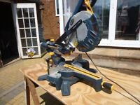 Macallister sliding chop saw.