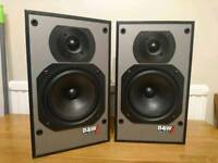 B&W DM100i speakers