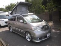 Toyota Alphard Camper Van
