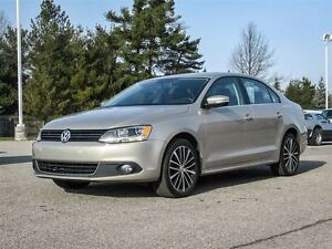 2013 Volkswagen Jetta Highline / LEATHER / SUNROOF / 2.5L ENGINE