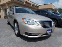 2014 Chrysler 200 Limited w/ leather and sun-roof