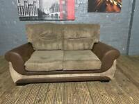 NICE HARVEYS FABRIC SOFA 2 SEATER IN EXCELLENT CONDITION