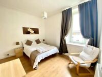 Short term let - Bright, Spacious One Bedroom Flat off Easter Road