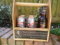 6 bottle beer tote