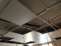 suspended ceiling tiles and fitting material for sale about 20feet c 10 feet