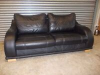 Luxury Black Leather 3-1-1 Suite