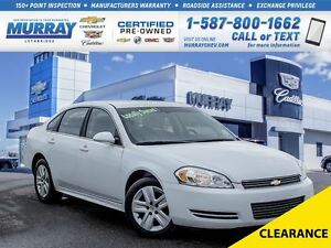 2011 Chevrolet Impala **Locally Owned!  Dealership Maintained!**
