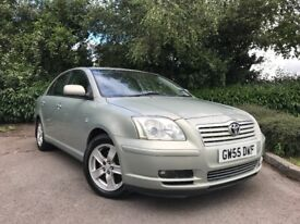 2005 (55) Toyota Avensis 2.0 D-4D T3-X LOW MILEAGE FULL TOYOTA SERVICE HISTORY 2 OWNERS FROM NEW