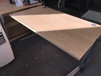 Used cantilever office desk for sale