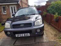 Spares and repairs Hyundai santa fe NO OFFERS AT ALL