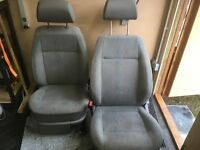 VW Caddy Van seats