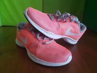 Womens Nike Flex Bijoux Lava Glow Trainers - Size 5