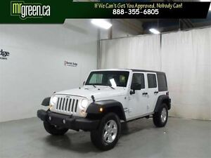 2014 Jeep WRANGLER UNLIMITED Sport Unlimited  4Dr 4X4 SUV Sport