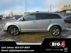 2016 Dodge Journey Crossroad, Rear DVD, Sunroof, Bluetooth