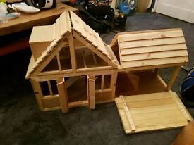 Dolls houses, benches, tables ETC..