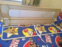 Bed Rail, portable Turn a bed into a baby cot