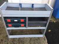 Van racking (shelves,diy, plumber, electrician,Joinner)