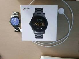Fossil Q Marshal Smartwatch Steel Grey