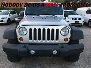 2010 Jeep Wrangler Sport**LOW KMS**A/C**CAR PROOF CLEAN**