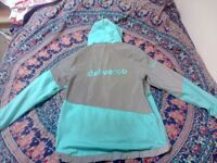 Deliveroo jacket and bags