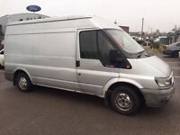 Ford transit Mwb high top year 2006 ready to work