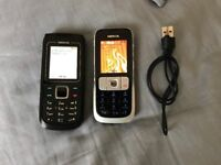X2 Nokia phones on o2.WITH CHARGER good condition. £15 FOR BOTH. NO OFFERS.CAN DELIVER