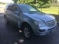Mercedes Benz ML 320 CDI SE Blue 56 Plate Automatic