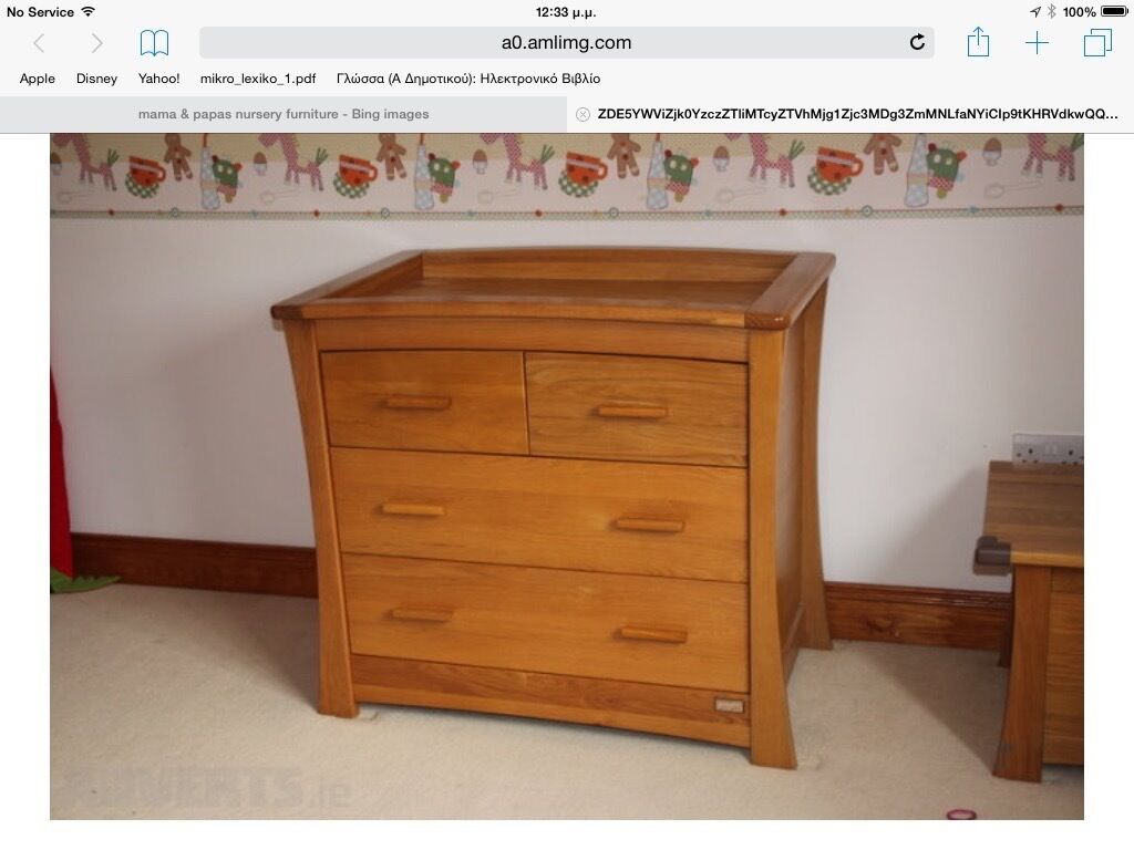 Mamas And Papas Bedroom Furniture This Mamas And Papas Ocean Range Nursery Furniture In Sutton