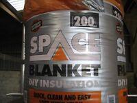 KNAUF 200MM SPACE BLANKET INSULATION ROLLS - 23 ROLLS