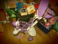 purple smart trike