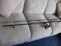 9ft PIKE ROD AND REEL
