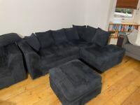 3 Piece L-Shape Sofa Set