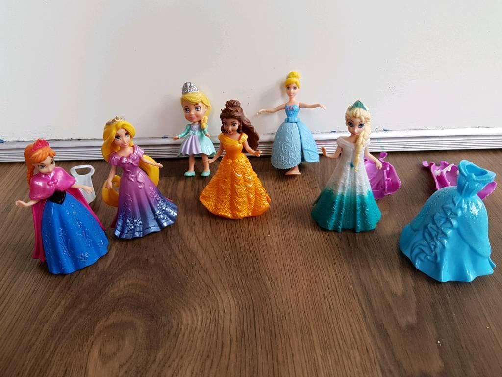 Magiclip dolls Disney princess belle elsa Anna rapunzel magic clip & others  | in Taverham, Norfolk | Gumtree