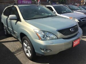 2007 Lexus RX 350 Leather Sunroof Wood Trims Alloys All Power Op